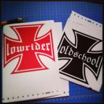 Iron / Maltese Cross Decals